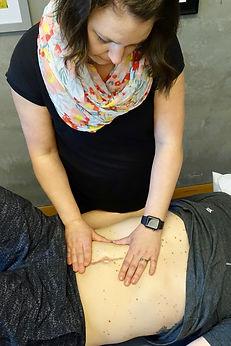 Visceral Manipulation for post operative scar tissue