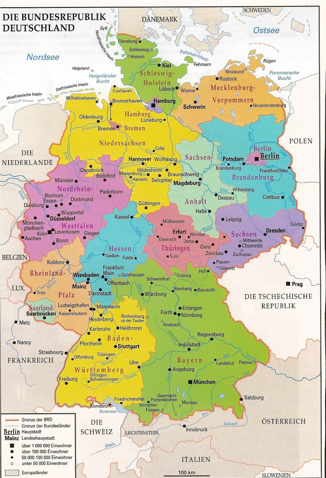 Nimechchina Geografiya