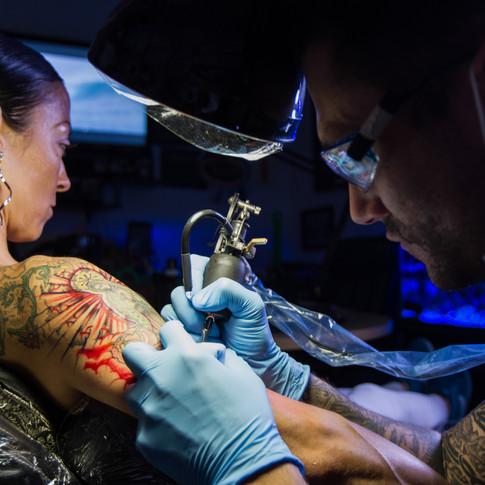 Tattoo Artist Portrait
