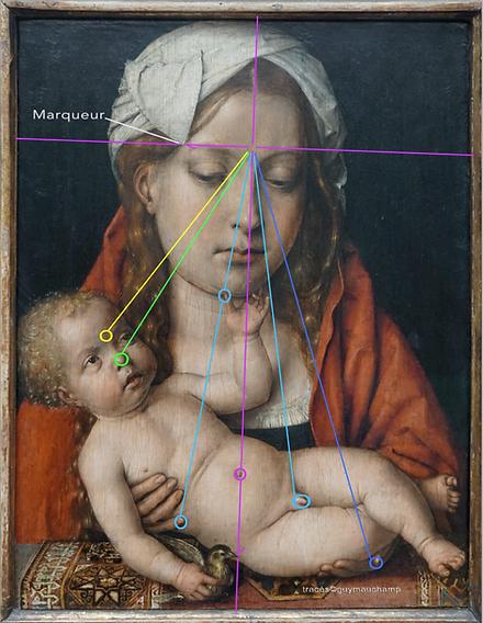 SITTOW - Marie et Jésus - Le lignes de l'âme de Marie