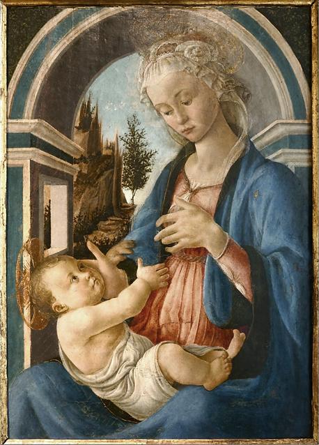 Botticelli Verge à l'enfant, 1467, Avignon, photo Guy Mauchamp