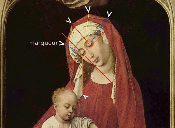 Van der WEYDEN - Madona Duran - Marqueur