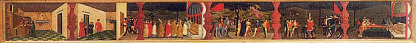 UCCELLO La profanation de l'Hostie - 1469.