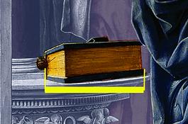Mesure de la bible de Del Cossa