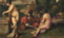 Titien, Concert champètre - Trois ligne