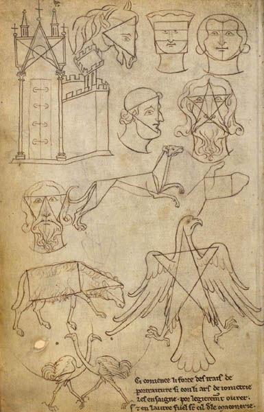 Villard de Hoonecourt - Carnet de dessin