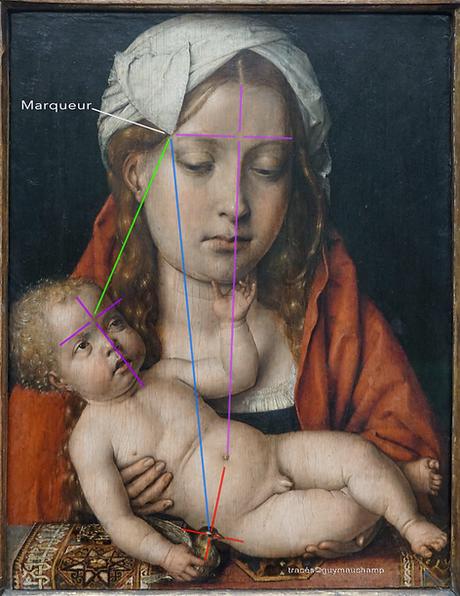 Sittow - Vierge à l'enfant et chardonner