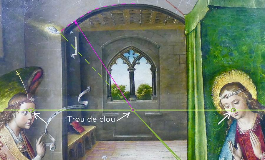 BERRUGUETE,_Annonciation,_trou_de_clou_v
