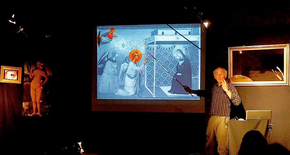 """Conférence """"l'art secret des peintres"""" de Guy Mauchamp"""