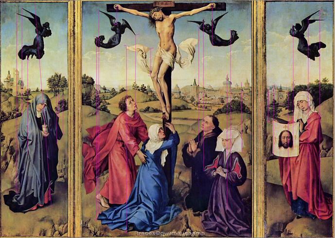 Van Der Weyden - Triptique de la crucifi
