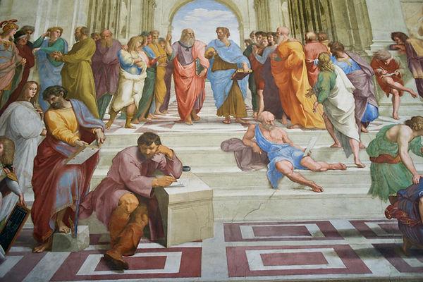 composition de la peinture : RAPHAEL Rome