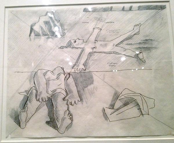 DALI_Etude_figures_alongées_1926_(Mont
