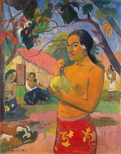 Gauguin Femme fruit 1893.jpg