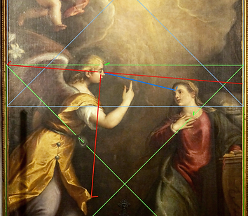 VECELLIO, présence du rapport doré entre Gabriel et Marie