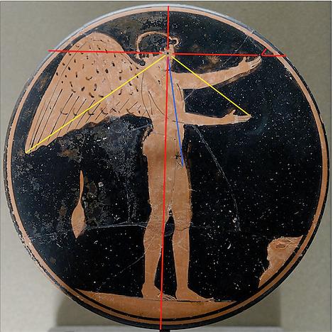 Eros - Grèce Antique - Analyse des lignes de regard