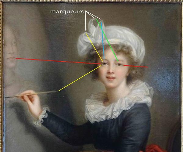 Vigier-Lebrun - Autoportrait - 1780 - Le