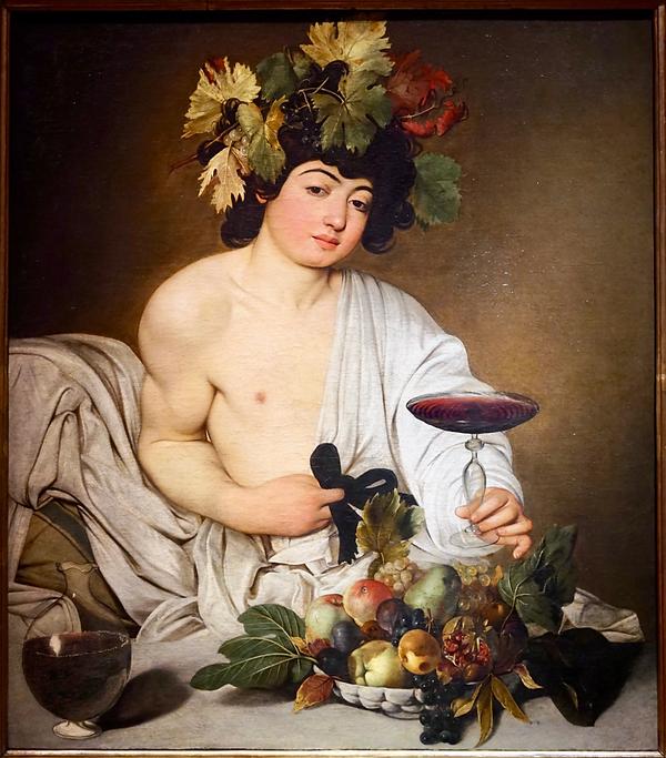 Caravage - Bacchus - 1590_ - Uffizi - ph