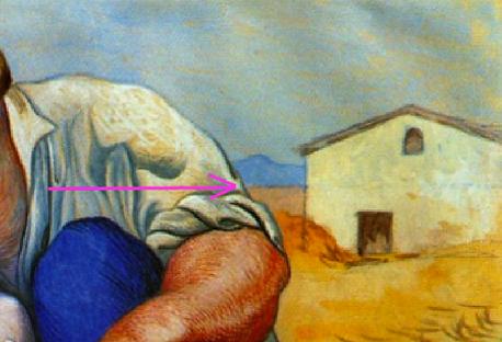 Picasso_-_Paysans_endormis-_Détail_de_l