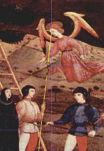 UCELLO L'hostie, une lance pointe l'Ame de l'ange.