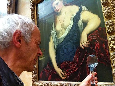 Guy Mauchamp au Louvre - Photo Meriem Bentahar