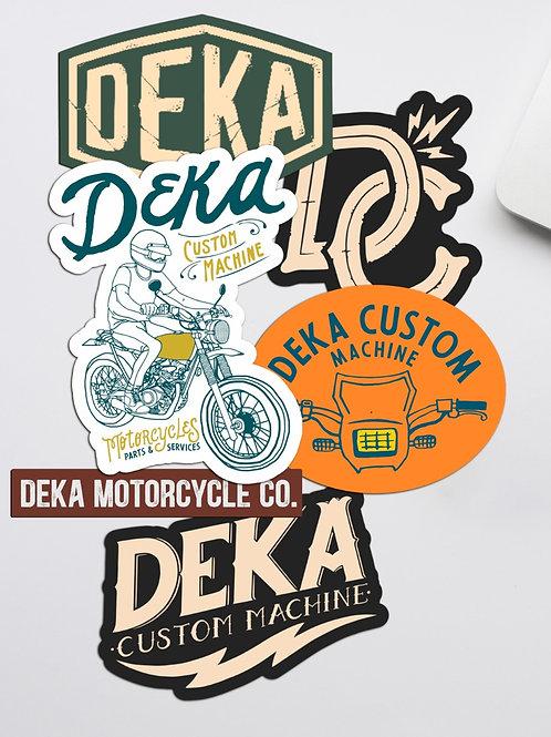 Stickers Deka Custom Machine