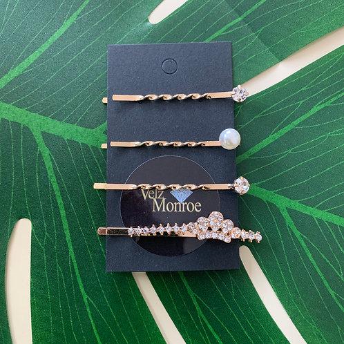 Crown Pin Set