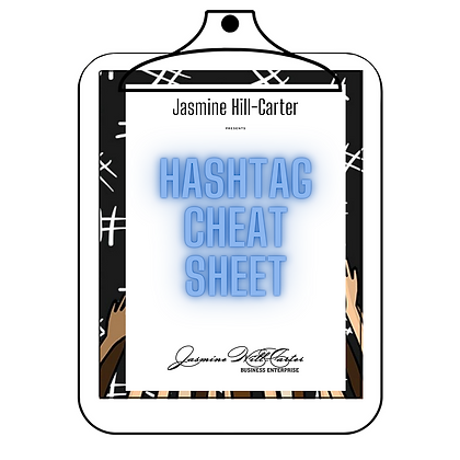 Hashtag Cheat Sheet