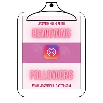 Removing Followers