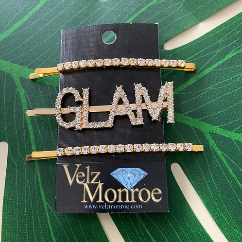 Large Glam Hair Pin Set