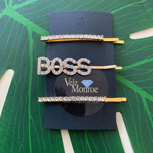 Boss Hair Pin Set