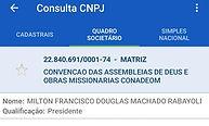 presidente do cnpj da Conadeom