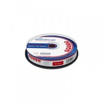 CD-RW 12x 80min Cake 10 Unidades MEDIARANGE