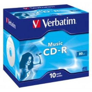 CD-R AUDIO 80MIN VERBATIM MUSIC LIFE PLUS