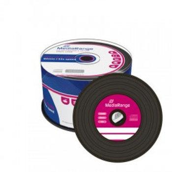 CD-R 700MB/80min Vinil Cake 50 Unidades MEDIARANGE