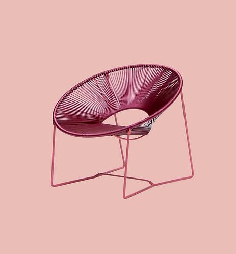 Silla lounge Cali PVC