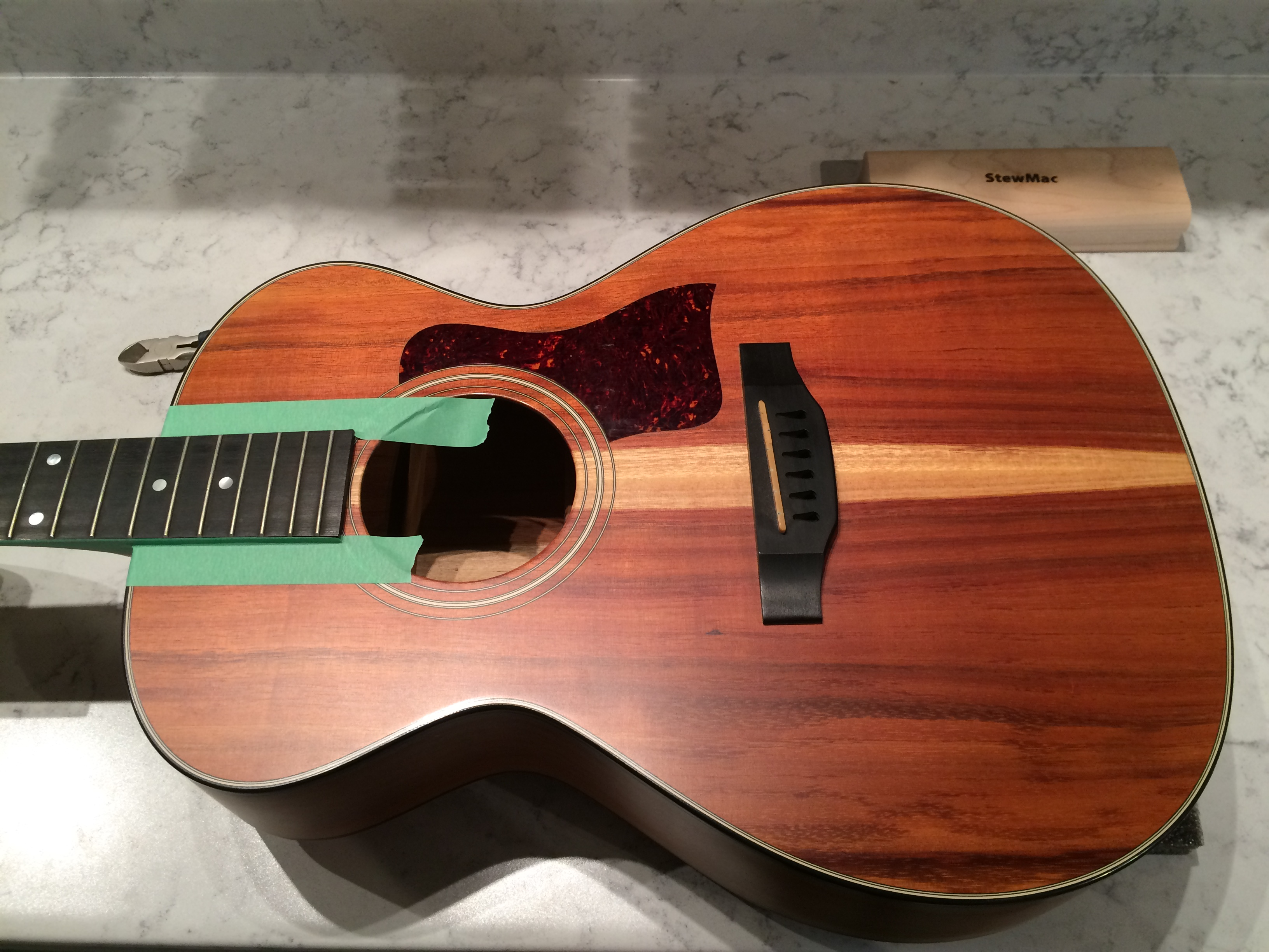 Taylor Koa GC Fret Dress