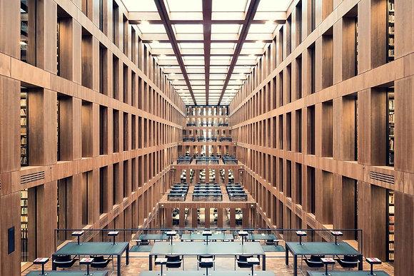 Fotografía Grimm Zentrum Library