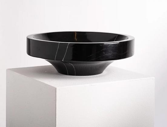 Bowl Black Marble