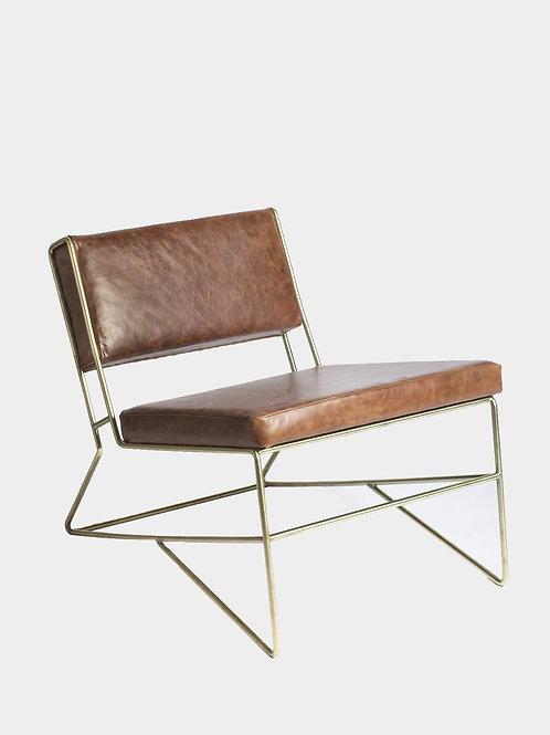 Silla lounge Prima Gold