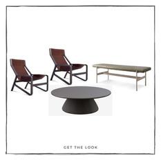 Silla Lounge - Mesa de centro - Banca
