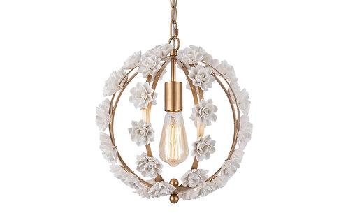 Lámpara colgante Floral