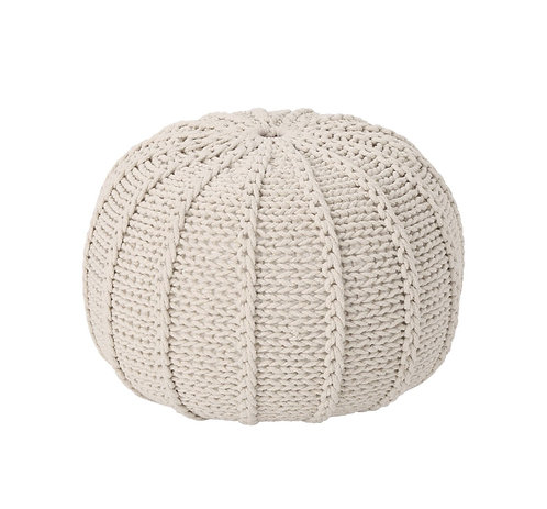 Puff Ivory Knitted