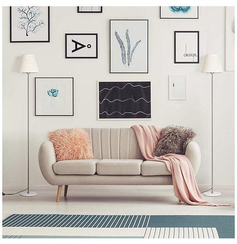 Lámpara de piso Marble & Linen