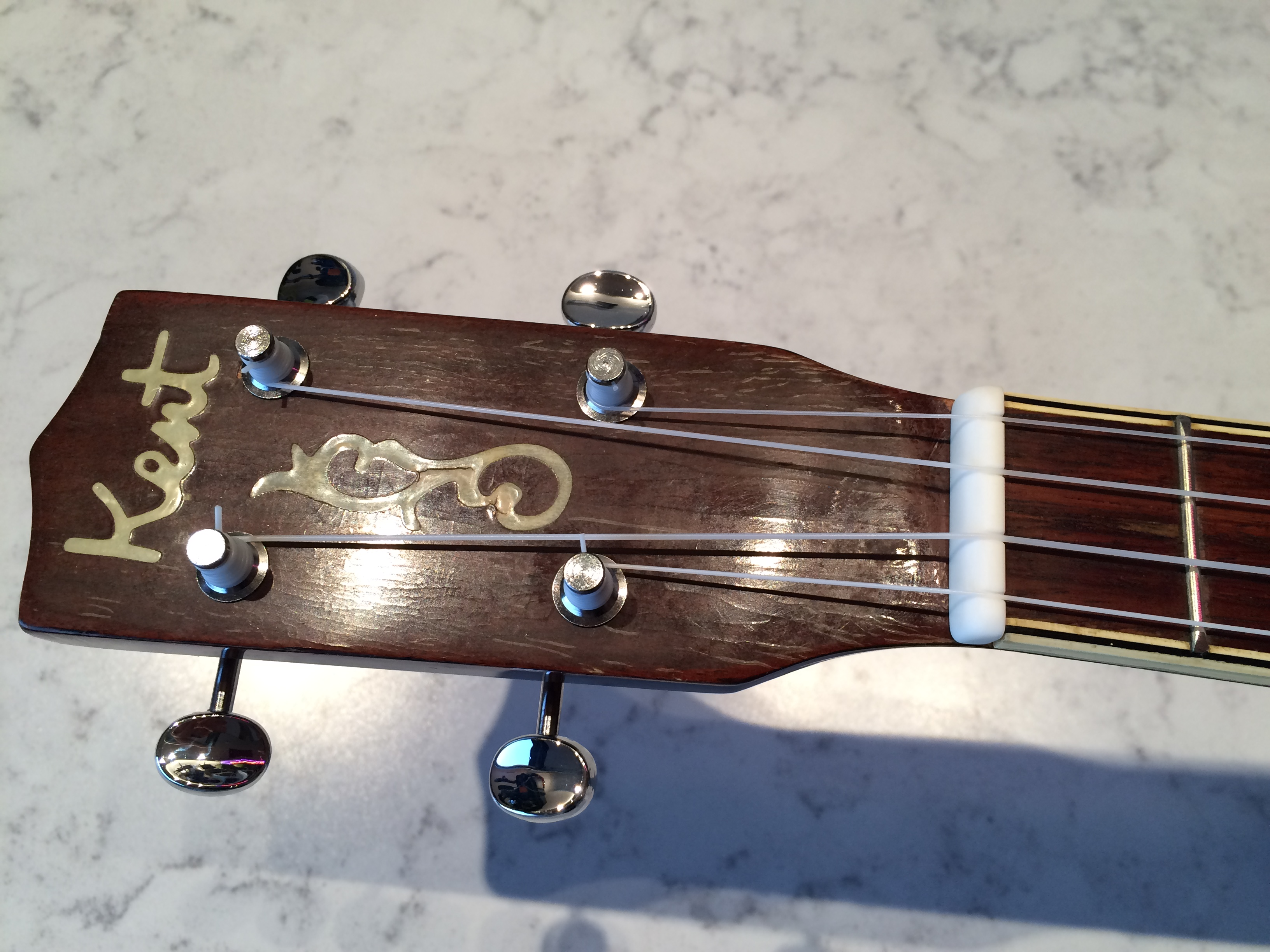 Hand Made Bone Nut Vintage Ukulele