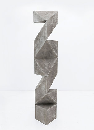 Escultura Totem Column Concrete