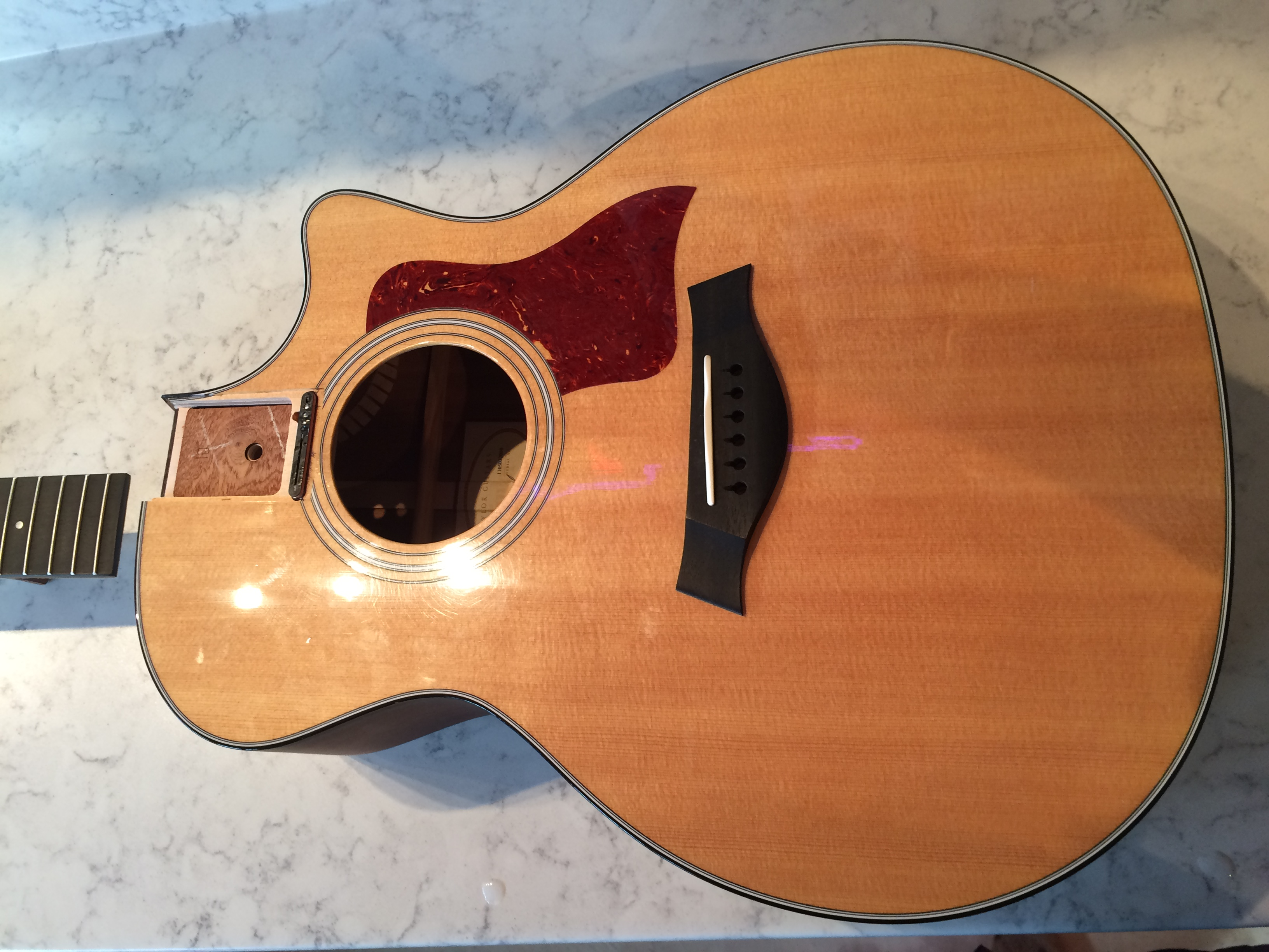 Taylor 314ce Neck Re-Set