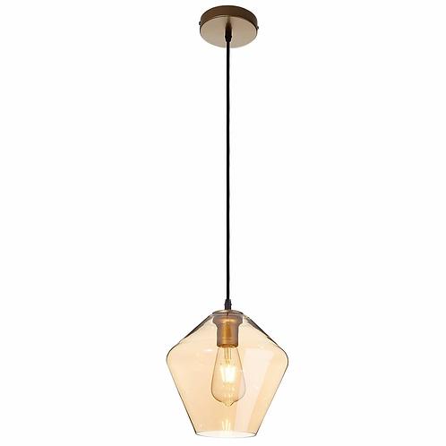 Lámpara colgante Amber Glass