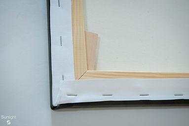 Bastidor de madera de 2 cm.