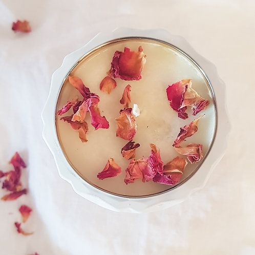 Botanical Wellness Candle | White Gold | 150ml