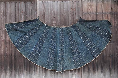 Vintage Japanese indigo dyed BORO rain coat